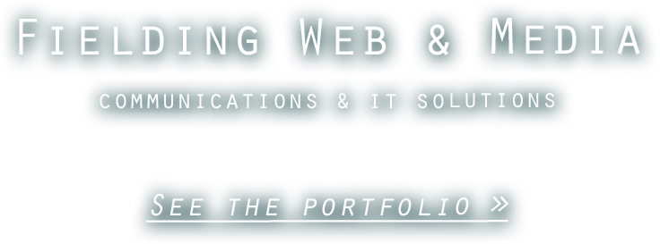 fielding web & media - communications & IT solutions